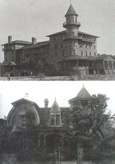 "One of these places is the home of bloodsucking ghouls; the other is the set of ""The Munsters."""