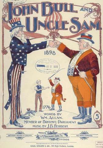 Uncle Sam's more fit because he spends more money.