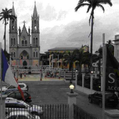 Catholic churches and palm trees are sure signs of economic stagnation, yet Equatorial Guinea saw its GDP quadruple over ten years.