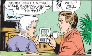 "Actual panel from the current ""Mary Worth"" storyline."