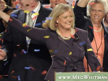 One-point-five cheers for Meg Whitman.