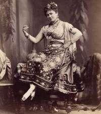 Minnie Hauk as Carmen.