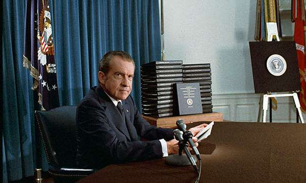 """I want it out. Get going,"" Pres. Richard Nixon said while being completely forthcoming with the Watergate investigation."