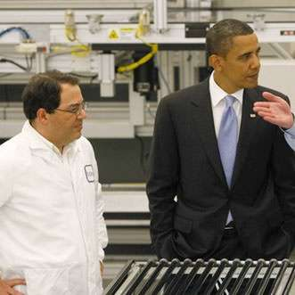 "Obama is delighted by the excellent ""optics"" in this Solyndra inquiry."