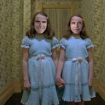 Obamney Twins just want to play with you.
