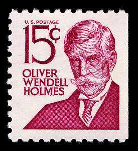 I wouldn't even give you 14 cents for Oliver Wendell Holmes.