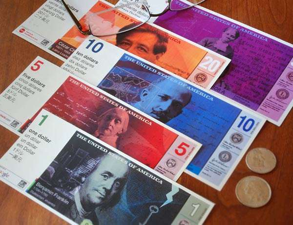 """Cezar Chavez on money: While you're at it, why not just stamp """"A NOVELTY"""" on the front?"""
