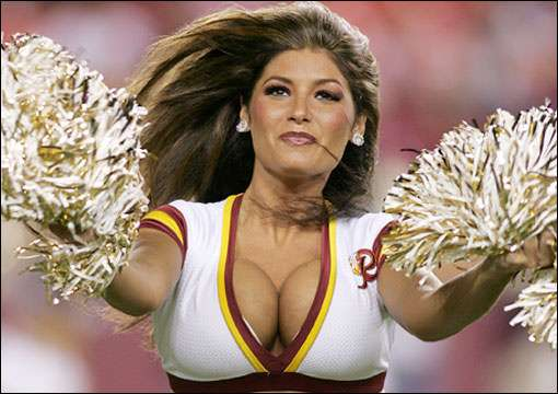 Even NFL losers can bring hot hotness.