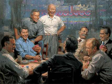 Like you, I'm tempted to buy Andy Thomas' Republican presidents card game, but I'd like to see Nixon, Ford and Teddy Roosevelt cashed out and Coolidge, Harding and U.S. Grant dealt in.
