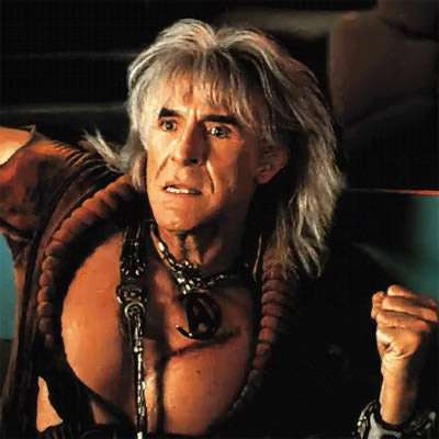 We each honor Ricardo Montalban in our own way.