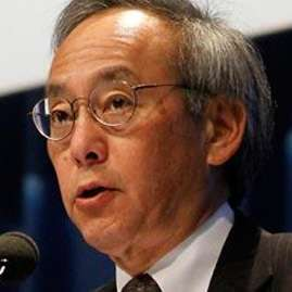 That is Steven Chu with a microphone, but not this week.