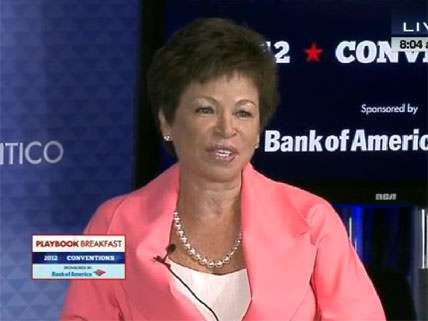 Valerie Jarrett at the Democratic National Convention