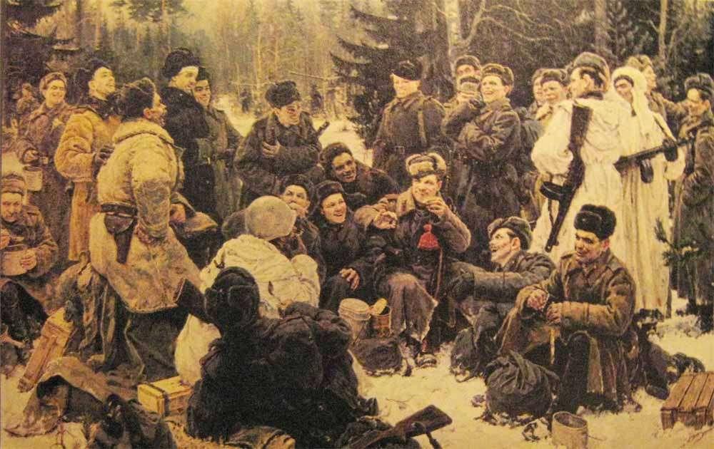 Vasily Tyorkin, great Soviet hero of Soviet greatness
