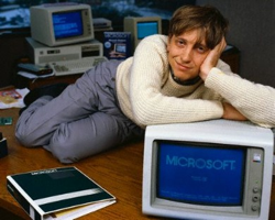 Bill Gates, ladies man