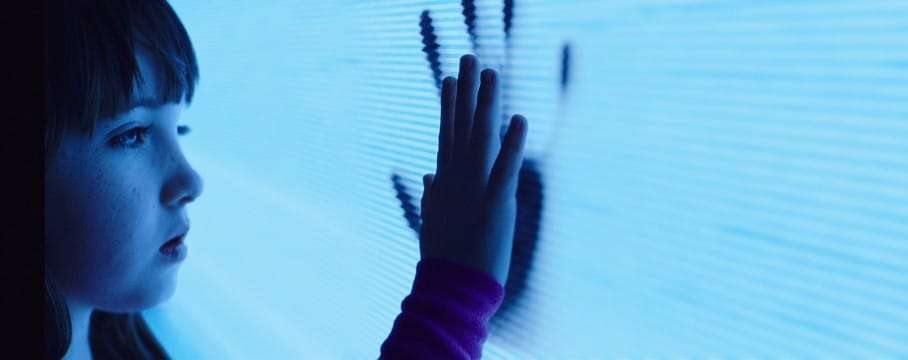 This photo provided by Twentieth Century Fox shows, Kennedi Clements as Madison Bowen, reaching out to apparitions that have invaded her family