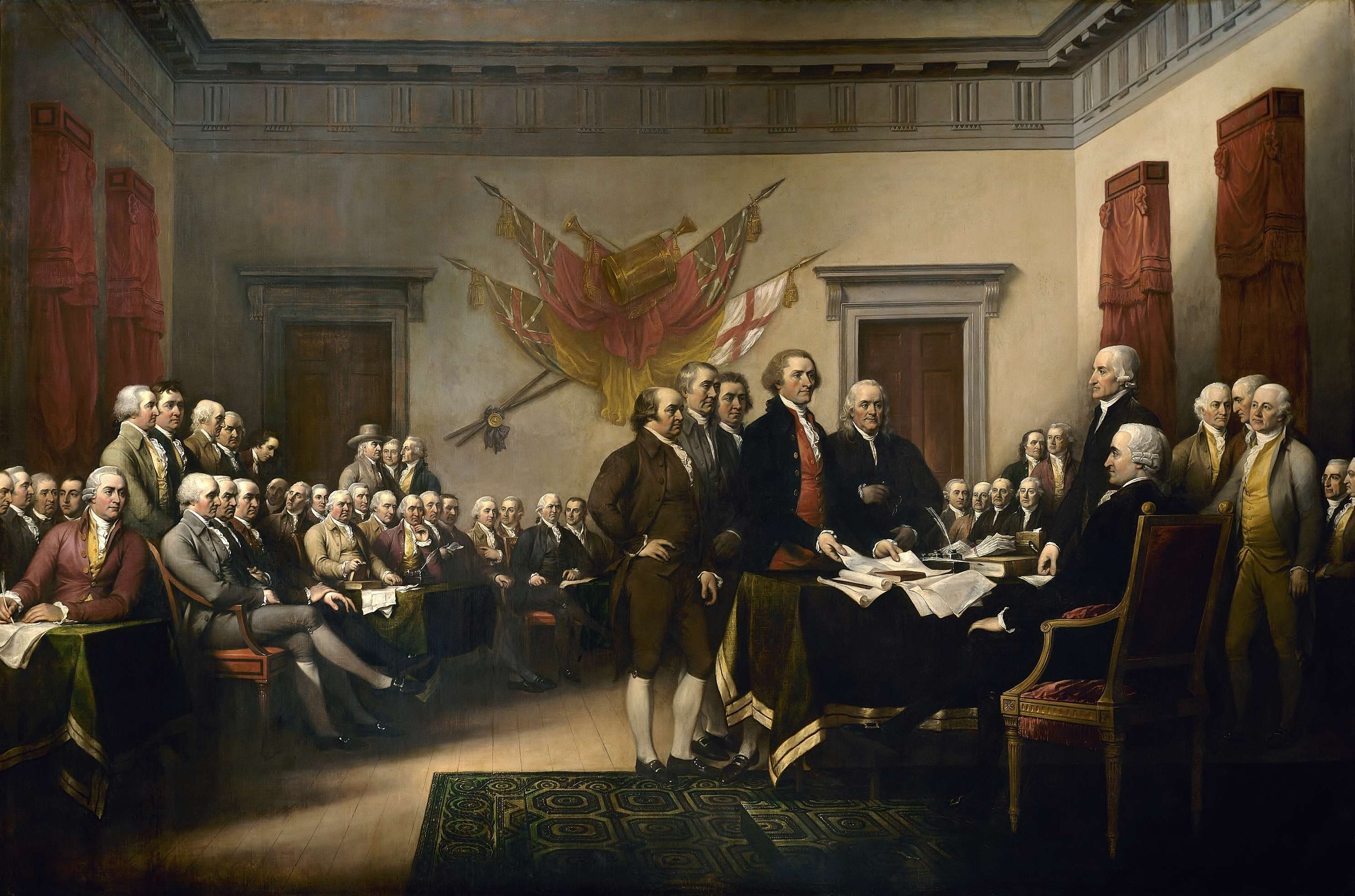 """Declaration of Independence"" by John Trumbull."