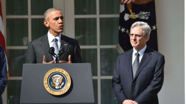 President Obama introduces Judge Merrick Garland as his nominee for the Supreme Court.