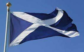 Flag of Scotland.