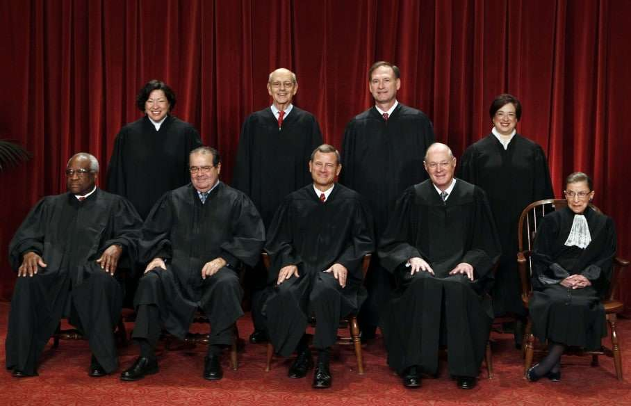 The justices of the U.S. Supreme Court. (Reuters)