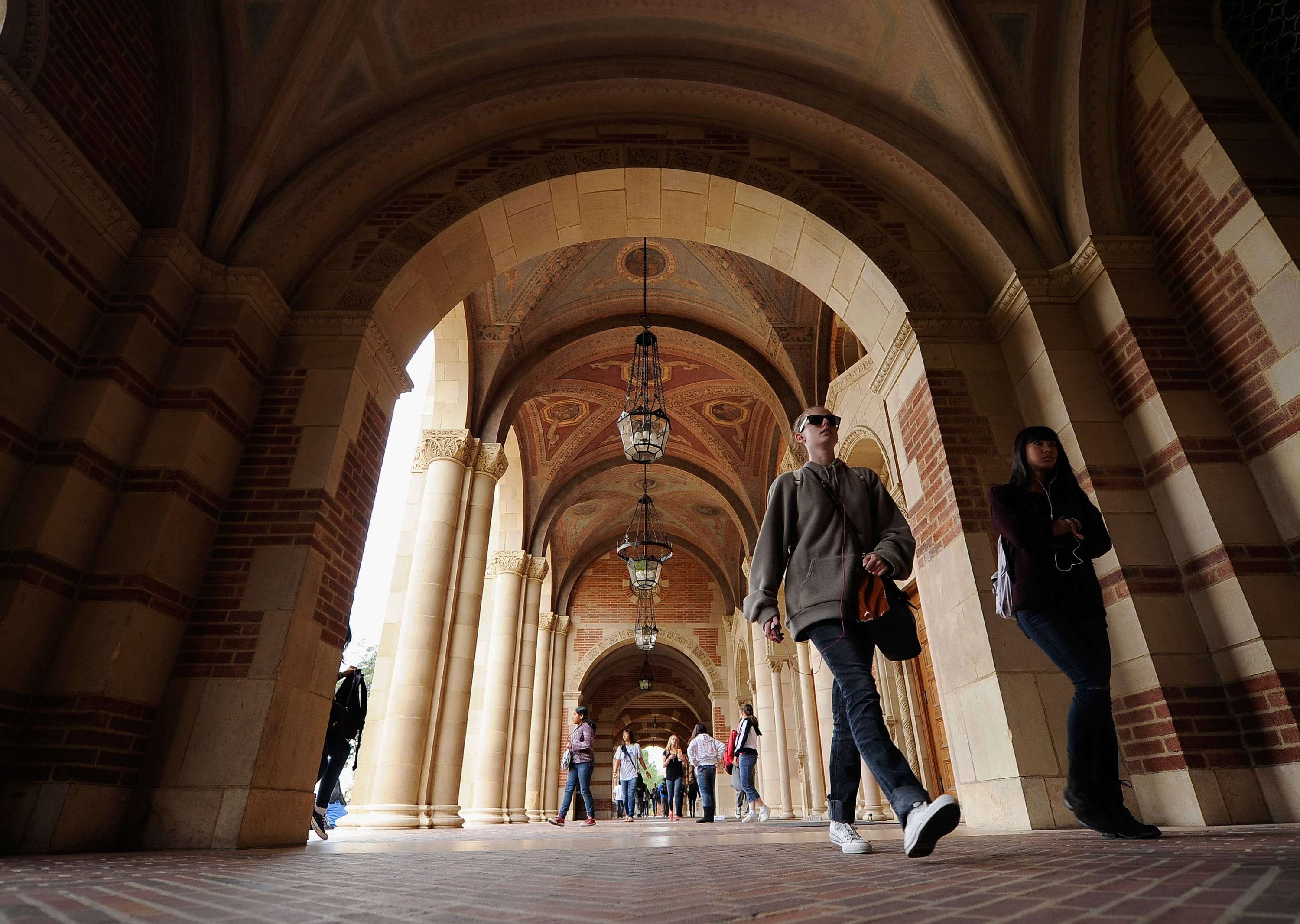 I'll be at UCLA teaching about the First Amendment next spring. (Photo by Kevork Djansezian/Getty Images, file)