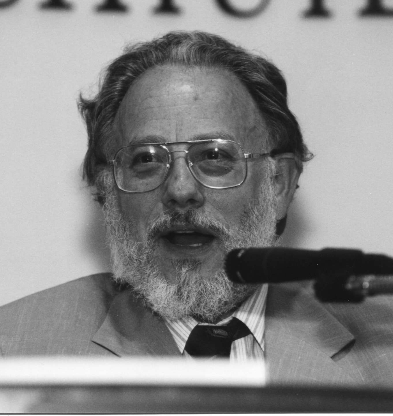 Don Kates, at an Independent Institute event (used with the Institute's permission); Don had been a Research Fellow at the Institute.