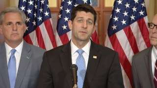 Speaker of the House Paul Ryan speaks on the proposed American Health Care Act.