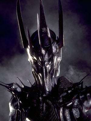 Sauron - a greater evil worth paying a price to avoid.