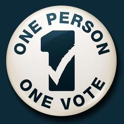 One Person One Vote