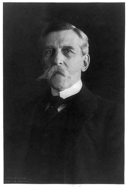 Justice Oliver Wendell Holmes, Jr., photographed by Frances Benjamin Johnston (1902), from the Library of Congress.