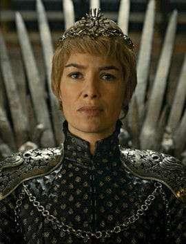 Queen Cersei - a lesser evil than Sauron.