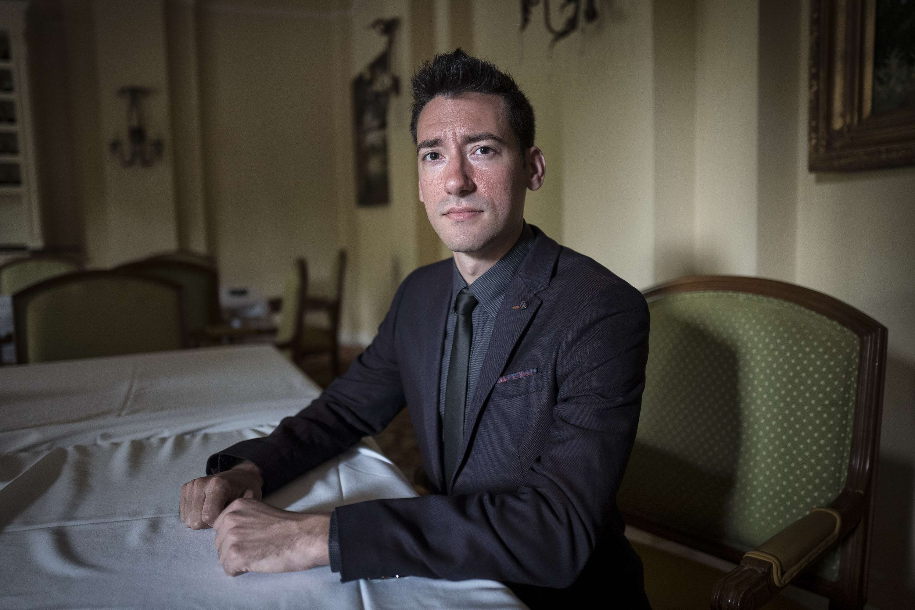David Daleiden, founder of The Center for Medical Progress. (Photo by Charles Ommanney/The Washington Post)