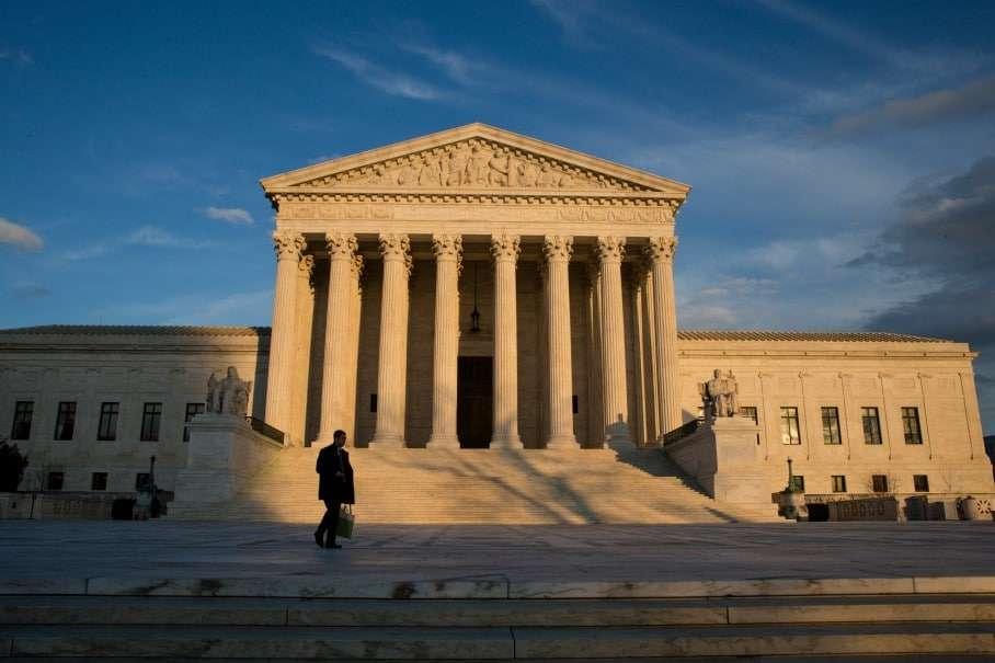The Supreme Court building. (J. Scott Applewhite/Associated Press)
