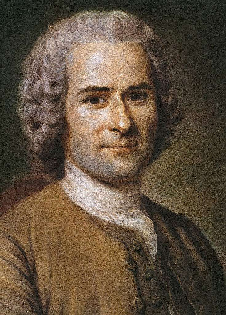 Jean-Jacques Rosseau, by Maurice Quentin de La Tour. Thanks to Wikipedia for the JPG.