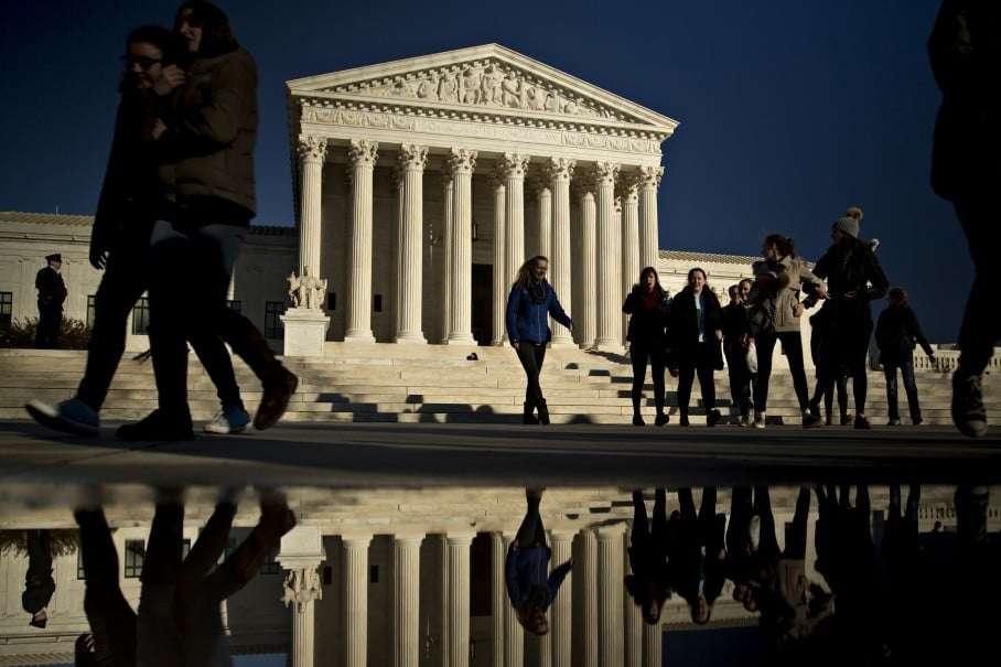 The U.S. Supreme Court building (Andrew Harrer/Bloomberg)
