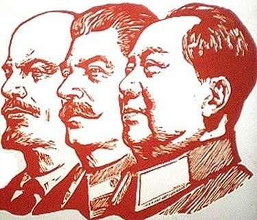 The three biggest Communist mass murderers: Lenin, Stalin, and Mao.